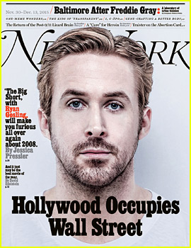 Ryan Gosling & His 'Big Short' Co-Stars Cover 'New York Mag'