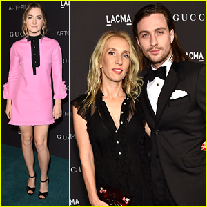 Aaron Taylor-Johnson & Wife Sam Taylor-Johnson Couple Up For LACMA's Art+Film Gala