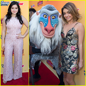 Sarah Hyland & Ariel Winter Hit Up 'The Lion Guard: Return Of the Roar' Premiere