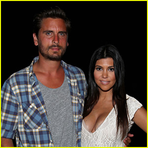 Kourtney Kardashian & Scott Disick Spend the Night at Home with Their Kids!
