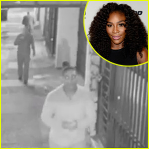 Serena Williams Chases Down Her Phone Thief in Surveillance Video - Watch Now!