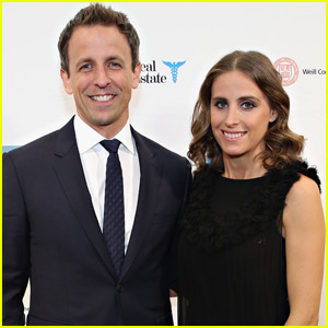 Seth Meyers' Wife Alexi Ashe Is Pregnant With Their First Child