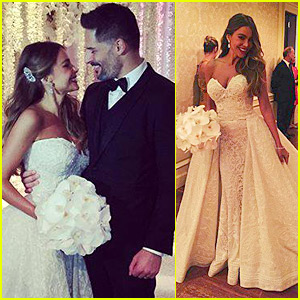 Sofia Vergara Wedding.Sofia Vergara Joe Manganiello S Wedding Photos See Here Joe