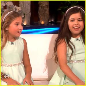 Sophia Grace & Rosie Make Big Return to 'The Ellen Show'