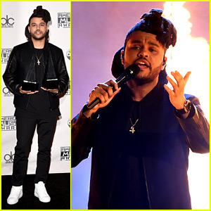 The Weeknd Sets the AMAs 2015 on Fire with 'The Hills' (Video)