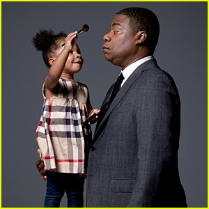 Tracy Morgan's Daughter Does His Makeup for 'GQ' Feature