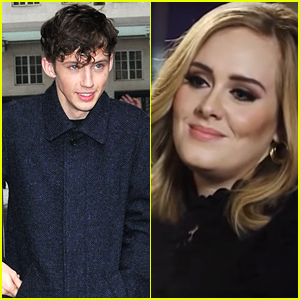 Adele Reacts to Troye Sivan Covering One of Her Songs