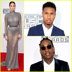 Tyga Arrived to the AMAs 2015 with Kylie Jenner