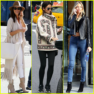 Victoria's Secret Angels Arrive for Final Fashion Show Fittings!