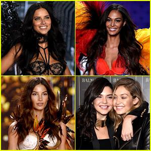 Victoria's Secret Fashion Show 2015 Models Lineup - All 44!