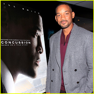 Will Smith Found 'Concussion' Conflicting as a Football Dad