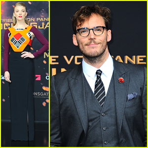 Sam Claflin & Natalie Dormer Join Jena Malone At 'Mockingjay Part 2' Premiere in Berlin