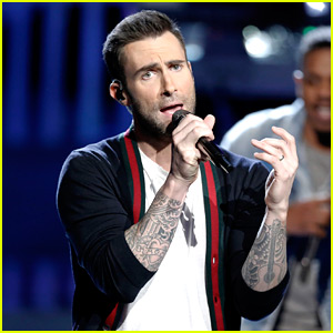 Adam Levine Performs 'Locked Away' on 'The Voice' (Video)