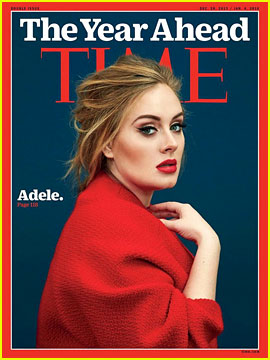 Adele Talks Tour Ideas, Son Angelo, & More for 'Time' Cover