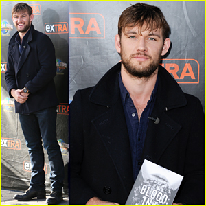 Alex Pettyfer Promotes 'Blood, Ink, & Fire' After Admitting Channing Tatum Feud