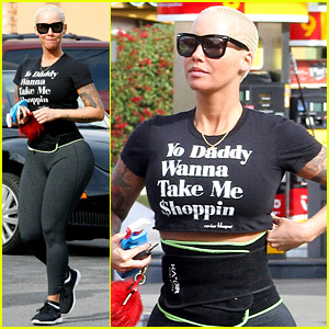 Amber Rose Has a Message For 'Yo Daddy'