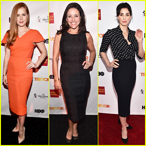 Amy Adams & Julia Louis-Dreyfus Serve As Presenters At TrevorLive LA 2015!