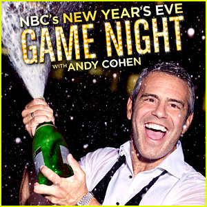 Andy Cohen's New Year's Eve Game Night 2016 - Celebs List!