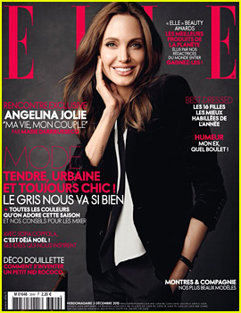 Angelina Jolie Covers Elle France's Latest Issue!