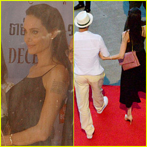 Angelina Jolie Gets Brad Pitt's Support at Cambodia Film Fest