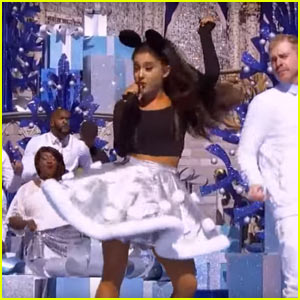 Ariana Grande Performs 'Zero to Hero' Live for Disney Christmas Day Parade - Watch Video!