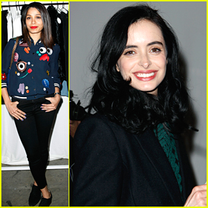 Frieda Pinto & Krysten Ritter Shop Alice + Olivia Ahead of Lakers Game