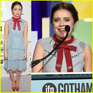 Bel Powley Wins Best Actress At Gotham Awards 2015!