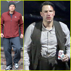 Ben Affleck Gets Bloody While Filming 'Live By Night'