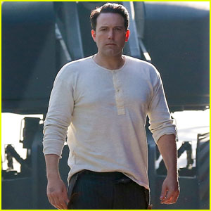 Ben Affleck Rocks Suspenders on 'Live by Night' Set