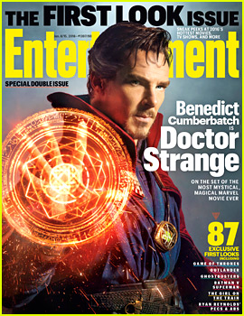 Benedict Cumberbatch as Doctor Strange - First Look on 'EW'