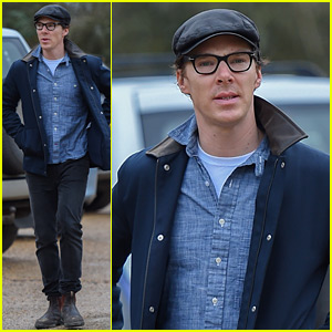 Benedict Cumberbatch Grabs Lunch with His Parents Ahead of the Holiday!