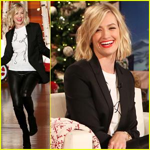 Beth Behrs & Ellen DeGeneres Talk Nipple Trauma - Watch Here!
