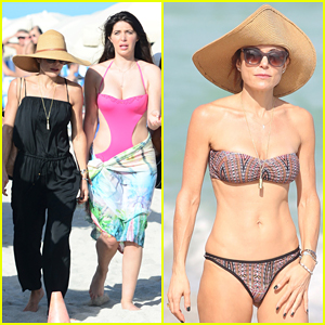 Bethenny Frankel Has Fun Day At The Beach with Brittny Gastineau!