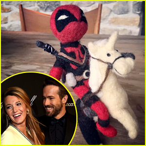 Blake Lively Got Ryan Reynolds a Cute 'Deadpool' Present!