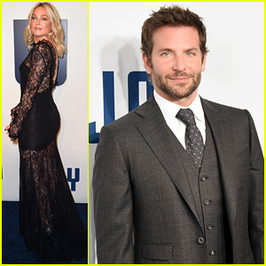 Bradley Cooper Looks Handsome at NYC 'Joy' Premiere