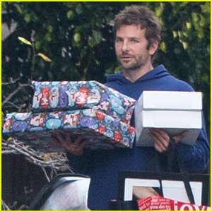 Bradley Cooper Continues His Christmas with More Gifts!
