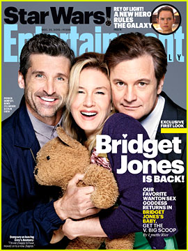 Renee Zellweger & 'Bridget Jones' Baby' Cast Cover 'EW'