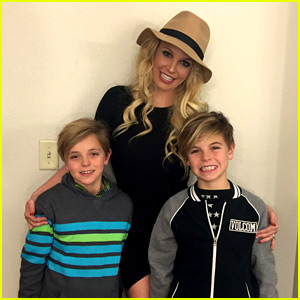 Britney Spears Posts Happy Post-Christmas Pics with Her Boys
