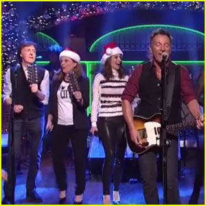 Paul McCartney Joins Bruce Springsteen on 'SNL' Stage (Video)