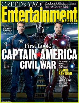 'Captain America: Civil War' Gets an 'EW' First Look Cover!