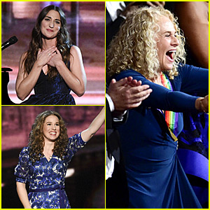 Sara Bareilles & Others Give 'Beautiful' Tribute to Carole King at Kennedy Center Honors (Video)
