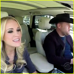 Carrie Underwood Belts 'Wake Me Up Before You Go-Go' for James Corden's 'Carpool Karaoke'!