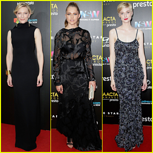 Cate Blanchett Is Honored with Longford Lyell Award at 2015 AACTA Awards!