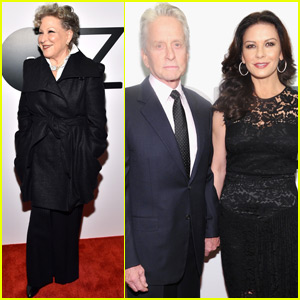 Catherine Zeta Jones & Michael Douglas Have a Date Night at Lincoln Center