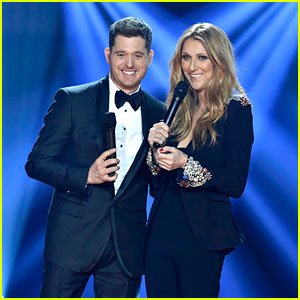 celine dion sings christmas songs with michael buble video - Michael Buble Christmas Songs
