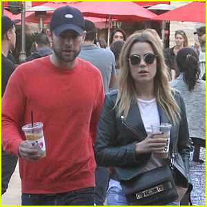 Chace Crawford & Rebecca Rittenhouse Go Incognito in L.A.