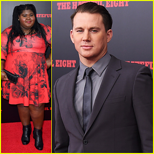 Channing Tatum Suits Up For 'The Hateful Eight' NYC Premiere!