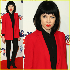 Carly Rae Jepsen Talks Justin Bieber's 'Purpose' At CapitalFM's Jingle Bell Ball 2015