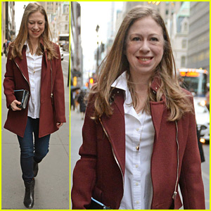 Chelsea Clinton Emerges After Announcing Second Pregnancy!