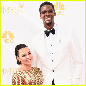 NBA Player Chris Bosh & Wife Adrienne Are Expecting Twins!